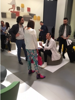 Karim Rashid discussing design