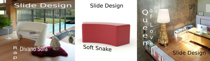 designer-furniture from slide