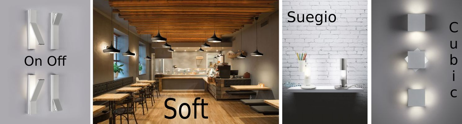 Products from Canttaneo featuring On-Off, Soft, Suegio and Square lighting