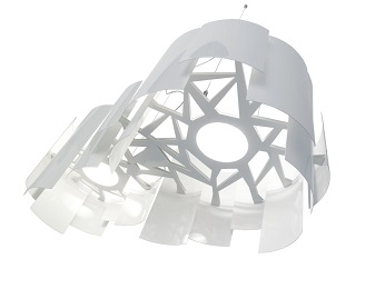 Skyline pendant light