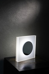 Eclipse LED acrylic table lamp