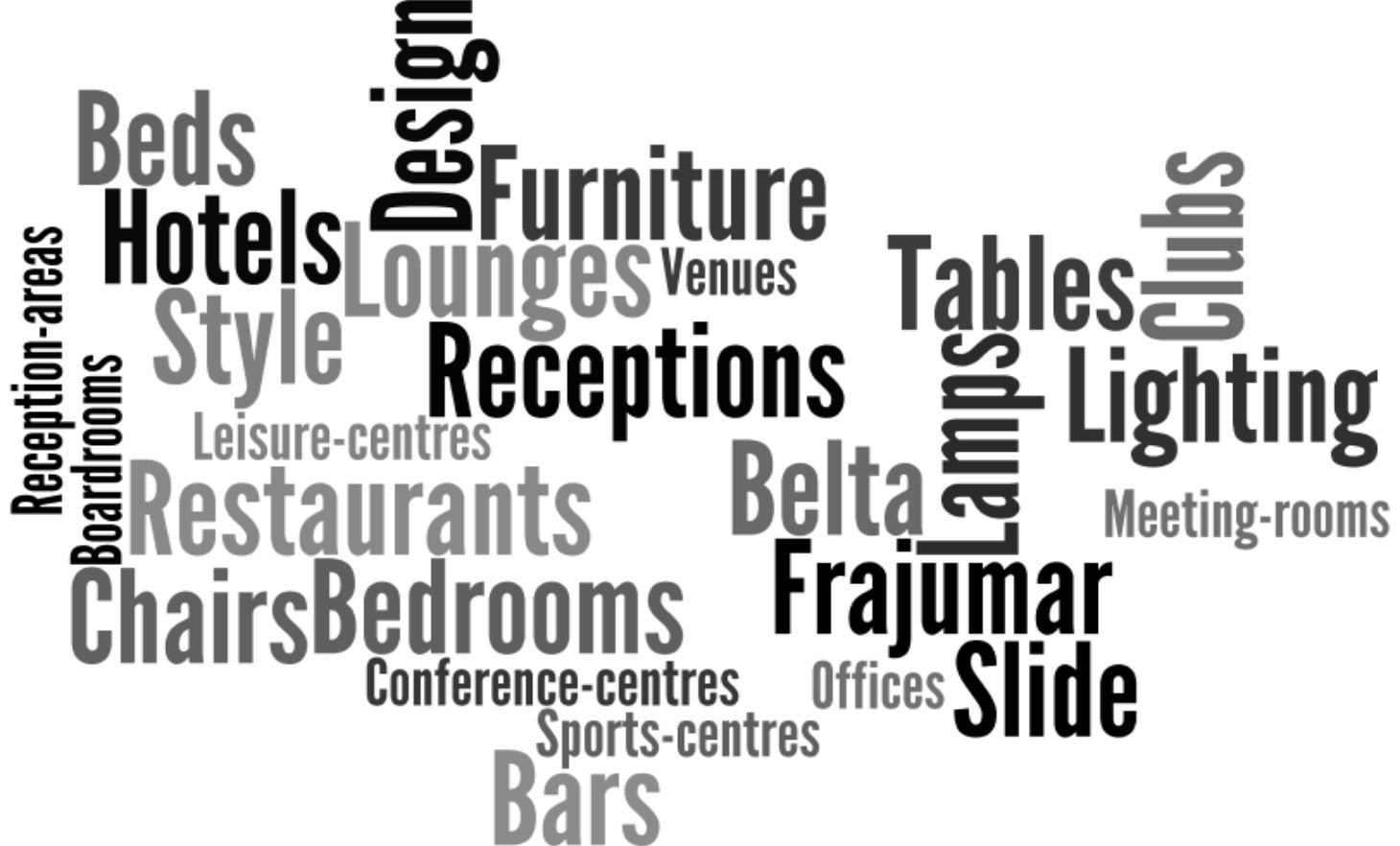 word search of our suppliers and venues
